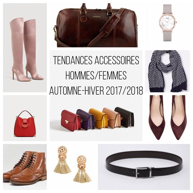accessoires tendance automne hiver 2017 2018
