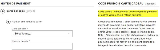 Bien utiliser un code promo Zalando