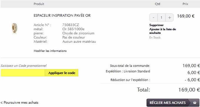 b80a48481 Codes promo & Soldes Pandora : -50% en Juin 2019 | 1001 Soldes
